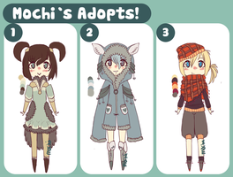 ||Chibi batch 4 | 1 Left!|| by Gebakje