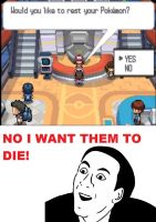 You dont say! Pokemon Center by Bleachrox95