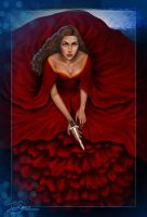 Graceling - Red Like Blood by Ingvild-S