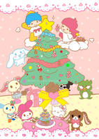 -: Sanrio Christmas :- by Cherry-Fizzle