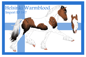 The Helsinki Warmblood Import ID 147# by LiaLithiumTM