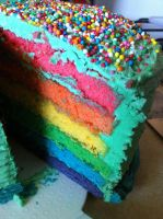 Rainbow Cake by starlet33