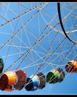 Ferris Wheel II by Pianochick66