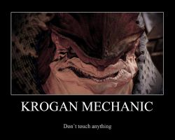 Krogan mechanic by Stealthero