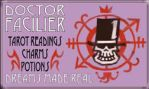 Dr. Facilier Business Card by elektralyte
