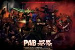 Pab and The Dirty Five by arielferreyra