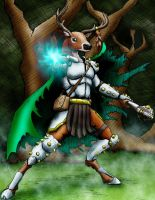 Deer Wizard by LancerAdvanced