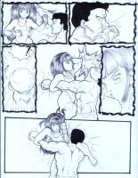 little girl beating guy page 4 by JorgeGaray