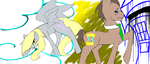 doctor whooves and derpy hooves by hotaru365