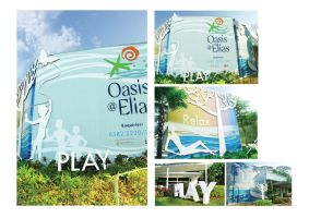Oasis showflat exterior by tsugami