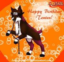 NCTS-Happy Bday Tenten by DarkChocaholic