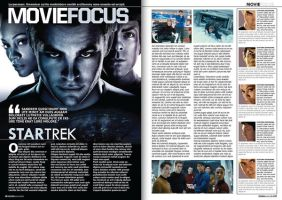Star trek editorial by Mikepeers