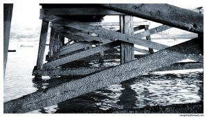 Under the pier by steelgohst