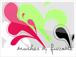 Brushes - swirls2 by msLana