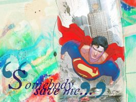 Superman: Somebody Save Me by Mask-of-Mafdet