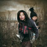 Children from Nepal by acro-phuket