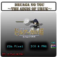 Druaga No Tou - Aegis of Uruk - Anime Icon by jstsouknw