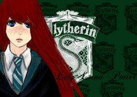 Lily Luna Potter Slytherin by AnodineduLac