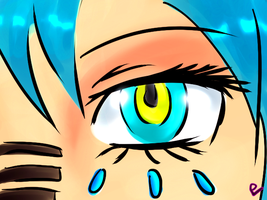 MIKU Mayrtoska Eye by pokemoneg