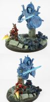 Thousand Sons Dreadknight Conversion by Proiteus