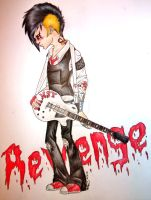 Frank Iero Revenge- AT by MisfitGlass