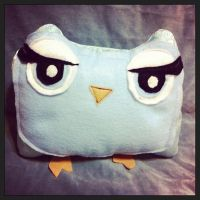 Kawaii Hoot Owl by InkyDreamz