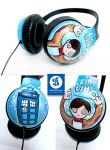 Doctor Who Headphones by Bobsmade