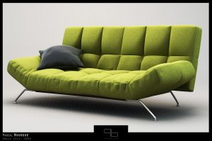 Smala Sofa Complete Textured by ZeroPointPolygon