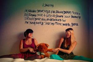 sharing. by kathykarate