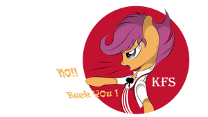 Kentucky Fried Scootaloo by V-D-K