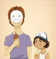 Cry and Clem by SugarplumTits
