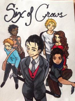Six of Crows color by Margaretto-Ri