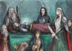 They buried Thorin deep beneath the Mountain by AnotherStranger-Me