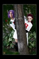 Team Rocket - Tree Cover by Kuragiman
