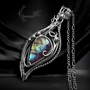 EQUERL YANDRI - Silver and Labradorite. by LUNARIEEN