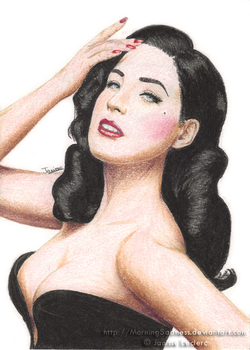 Dita von Teese by MorningSadness