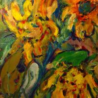 Sunflowers by LaurieLefebvre