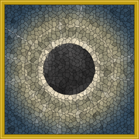 Stained Glass Eclipse by IconoKlasm