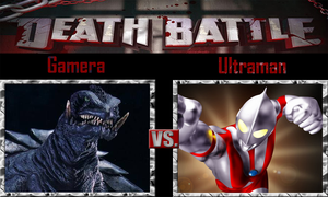 Gamera vs Ultraman by SonicPal