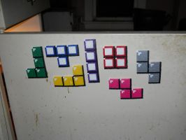 Tetris Magnets by fate82