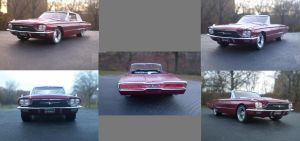 1966 FORD THUNDERBIRD R by themodelist