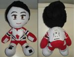 Ashley Williams Plushie - Mass Effect by lunavixen015