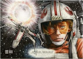 Luke Skywalker - A NEW HOPE Artist Proof by Erik-Maell