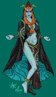 Princess Midna - August 2007 by bratchny