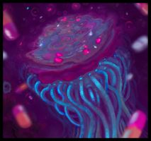 impacted jellyfish by IDACHI