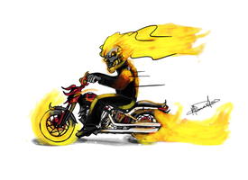 Ghost Rider by Mkemaster