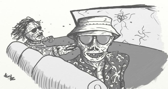 Fear And Loathing In The Land Of The Dead by thespacesbetweenall