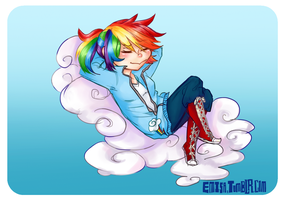 Rainbow Dash by emisa