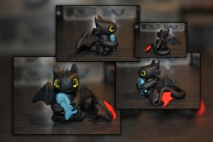 Toothless by KirstenBerryCrafts