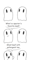 I propose a ghost by DeathToSquishies